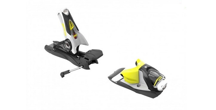 fix de ski look spx 12 b90 concrete yellow